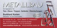 Metallbau Burkhard Kasten