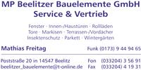 MP Beelitzer Bauelemente GmbH