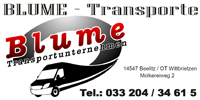 Kleintransporte Kurierdienst Lothar Blume